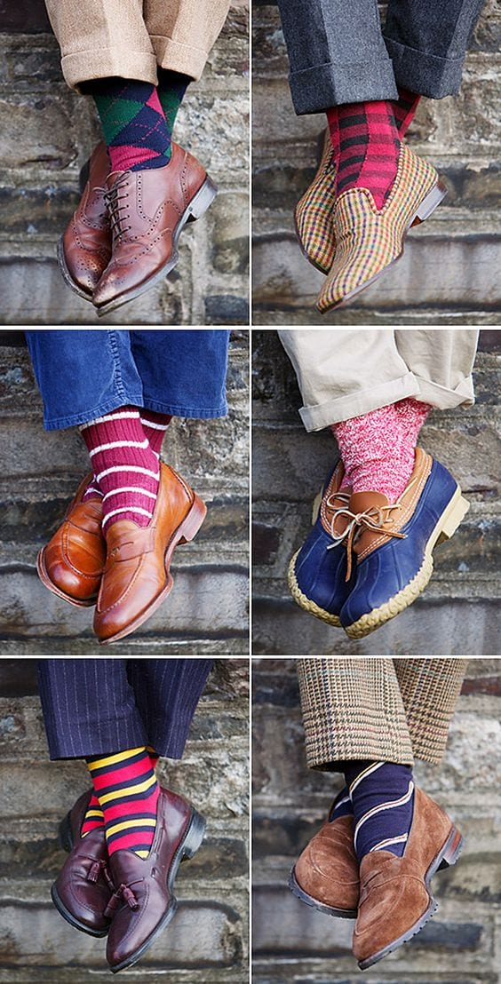 Funky-Socks 30 Funky Outfits for Guys Trending These Days