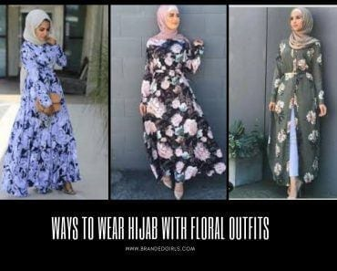 Hijab with Floral Outfits