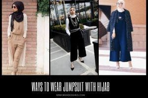 How to Wear Jumpsuit with Hijab