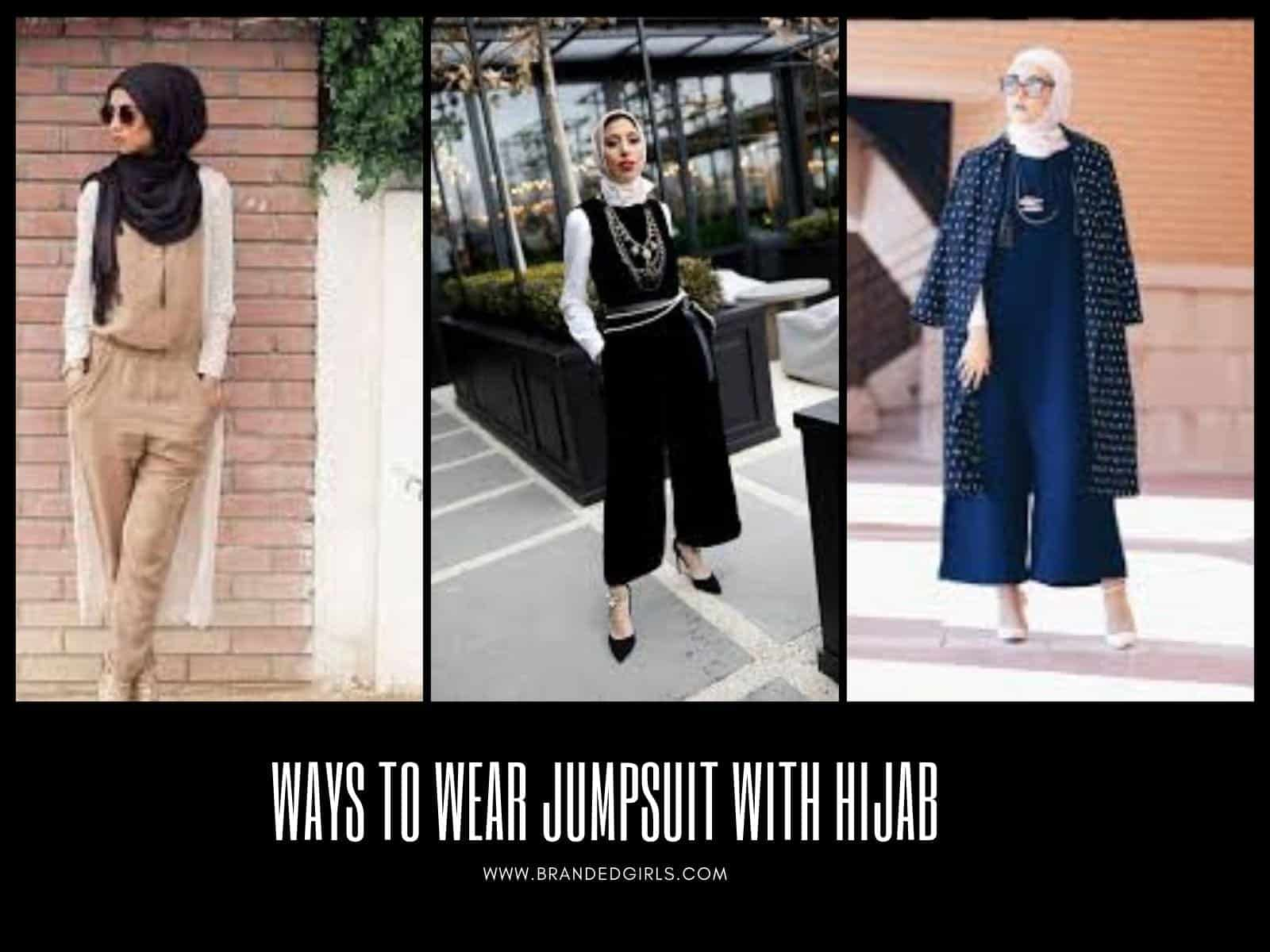 Ways-to-Wear-Jumpsuit-with-Hijab Hijab With Jumpsuits - 16 Ways To Wear Jumpsuit With Hijab