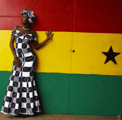 kaba-and-slit-attire-500x492 Ghanaian Women Kaba and Slit- 20 Beautiful Kaba Outfit Ideas