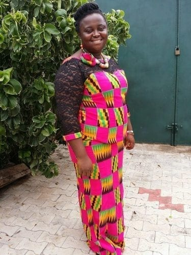 kaba-and-slit-for-plus-size-375x500 Ghanaian Women Kaba and Slit- 20 Beautiful Kaba Outfit Ideas