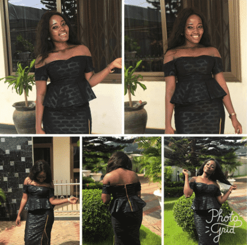 kaba-and-slit-funeral-attire-500x496 Ghanaian Women Kaba and Slit- 20 Beautiful Kaba Outfit Ideas