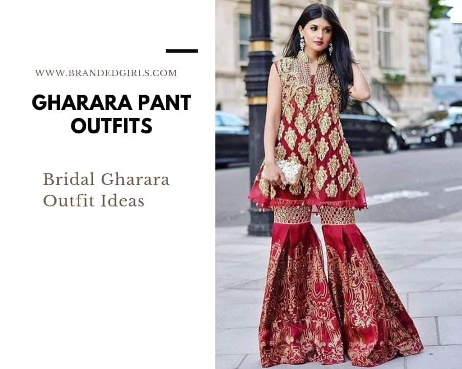 Brida-Ghara-Outfit-Ideas Gharara Pant Outfits-20 Beautiful Outfits with Gharara Pants