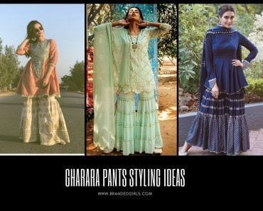 How to Style Gharara Pants