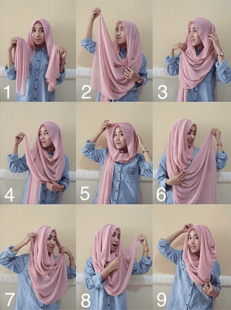 How-to-Tie-a-Hijab Travelling in Hijab - 20 Travelling Tips for Stylish Hijabis