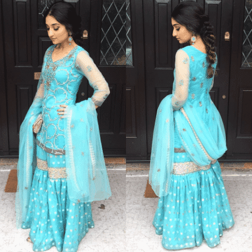 disney-style-gharara-pants-500x500 Gharara Pant Outfits-20 Beautiful Outfits with Gharara Pants