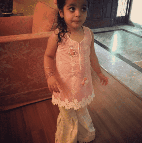 gharara-pants-outfit-for-little-girls--497x500 Gharara Pant Outfits-20 Beautiful Outfits with Gharara Pants