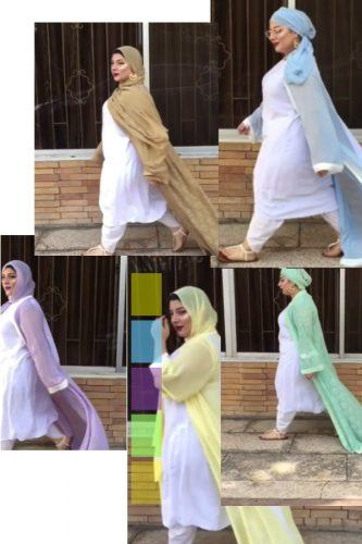 hijab-to-wear-with-white-shalwar-kameez-333x500 21 Best Ways to Wear Hijab with Shalwar Kameez Elegantly