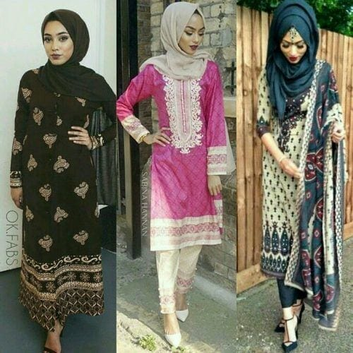 hijab-with-shalwar-kameez--500x500 21 Best Ways to Wear Hijab with Shalwar Kameez Elegantly