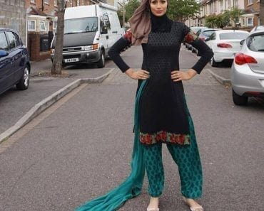 hijab with shalwar kameez