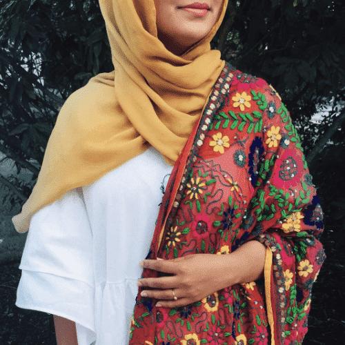 hijab-with-shalwar-kamiz-500x500 10 Best Ways to Wear Hijab with Shalwar Kameez