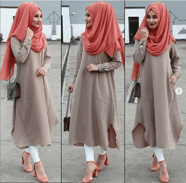 pastel-color-with-hijab 21 Best Ways to Wear Hijab with Shalwar Kameez Elegantly