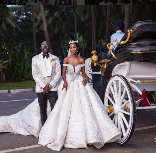 cinderella-style-500x491 30 Latest Nigerian Dresses for Nigerian Brides 2019