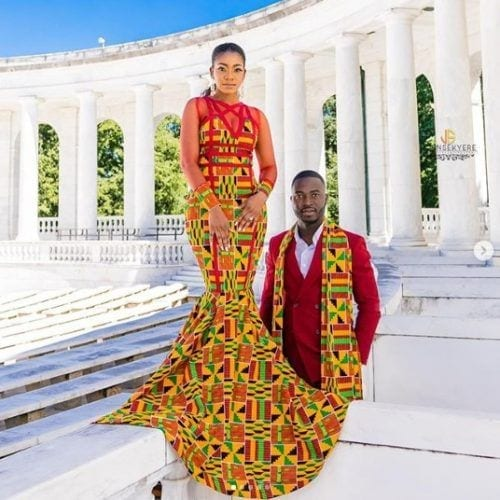 eccentric-geometry-500x500 30 Latest Nigerian Dresses for Nigerian Brides 2019