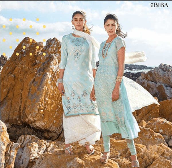 biba-blue Top 12 Women Clothing Brands in India 2019 List
