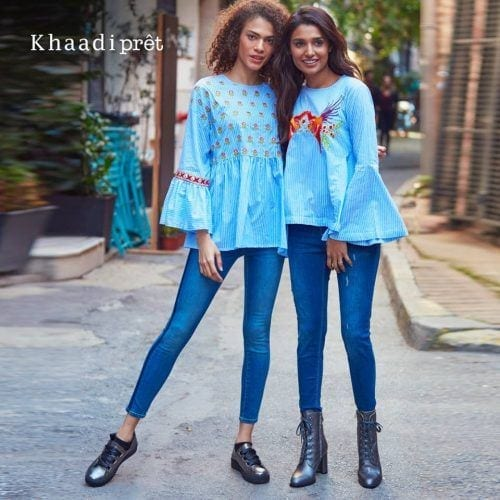 khaadi-denim-jeans-500x500 Top 15 Jeans Brands For Girls In Pakistan With Price