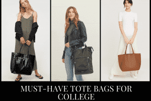 6 Types of Tote Bags that Every Girl Needs for College