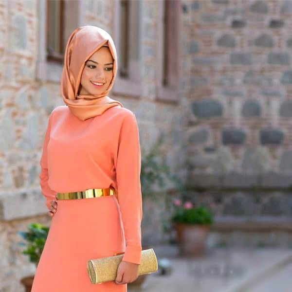 formal-gown How to Wear Hijab with Gowns ? 20 Modest Ways to Try
