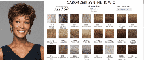 gabor-e1518880623118-500x210 Top 10 Wig Brands for African Americans with Price