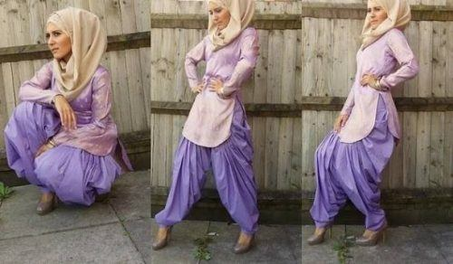 hijab-500x292 15 Modest Ways for Women To Wear Shalwar Kameez Fashionably