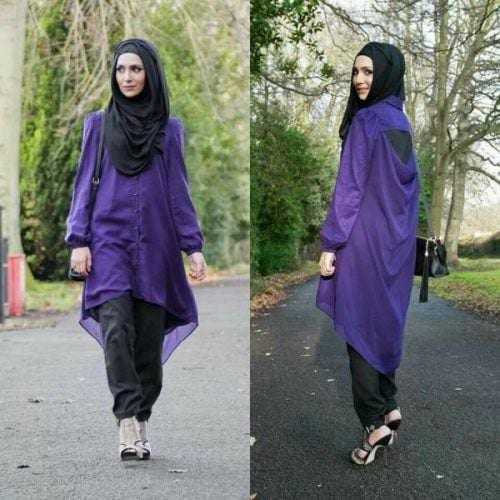 hijab-with-shalwar-kameez-13-500x500 15 Modest Ways for Women To Wear Shalwar Kameez Fashionably