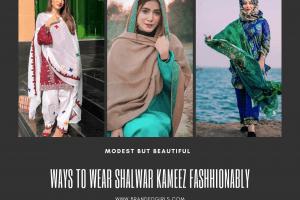 15 Modest Ways for Women To Wear Shalwar Kameez Fashionably