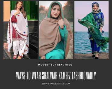how to wear shalwar kameez latest styles