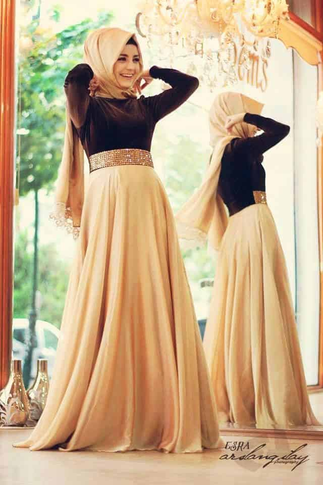 wedding-gown How to Wear Hijab with Gowns ? 20 Modest Ways to Try