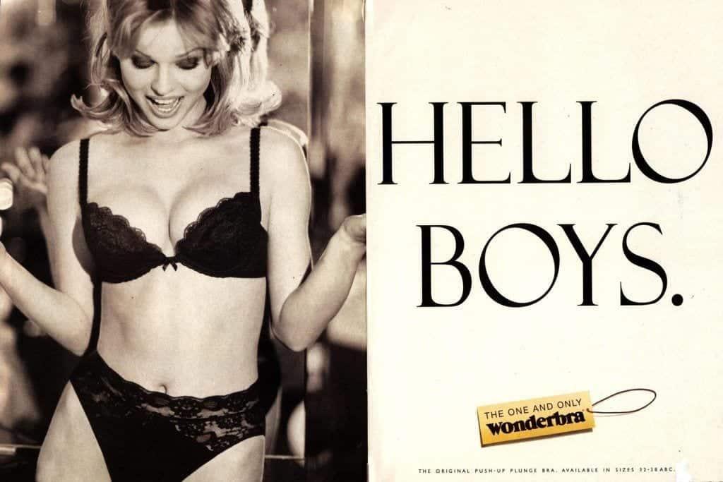 Image result for wonderbra hello boys ad