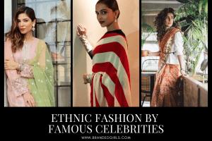 Celebrity Ethnic Dresses 18 Best Ethnic Looks of Celebs