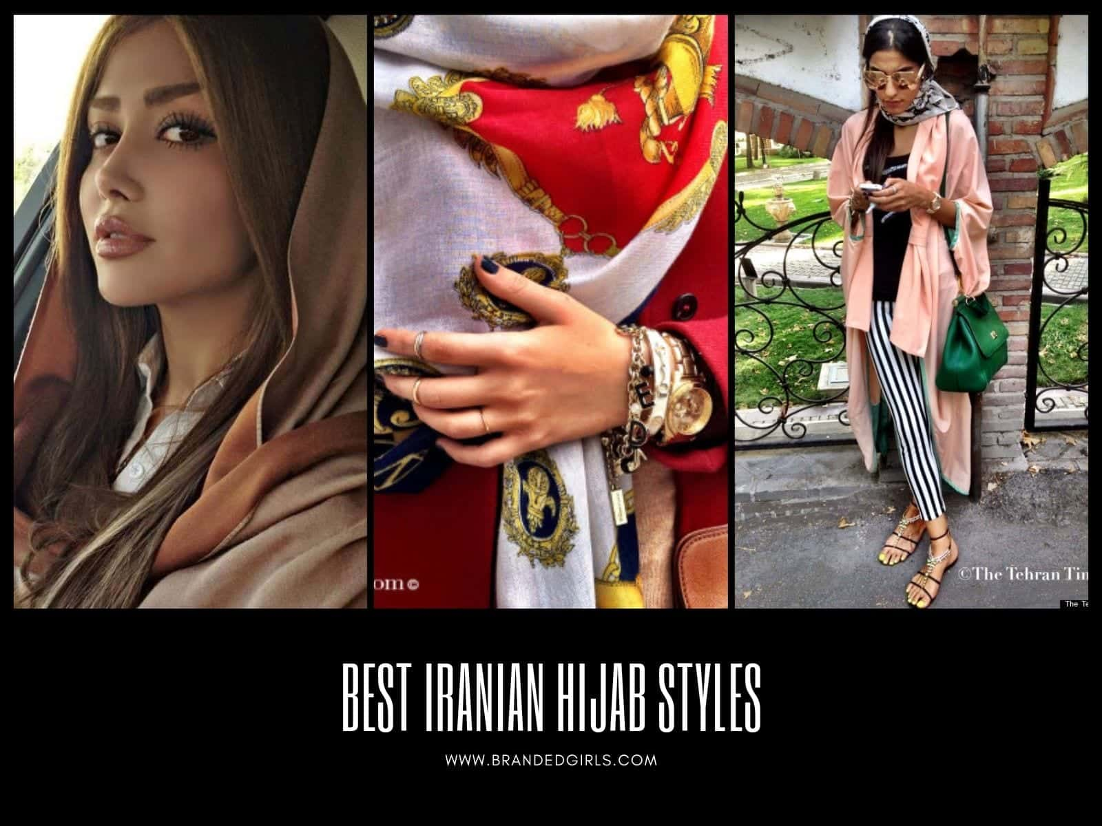 Iran-Hijab-Styles 20 Best Iranian Hijab Style-Step by Step Irani Hijab Tutorial