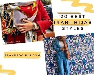 irani hijab style tutorials