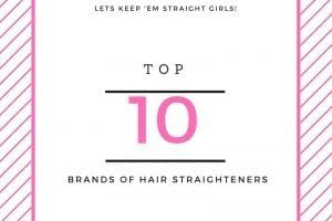 top brands of hair straightener