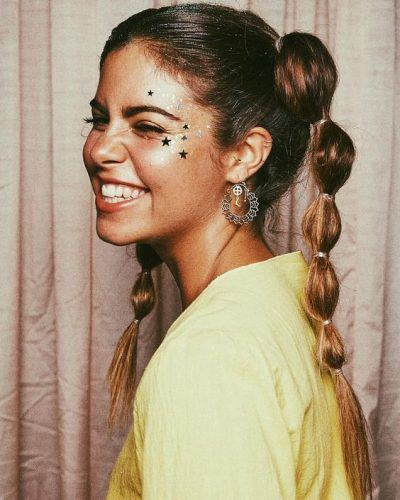 face-glitter-and-faux-braids-400x500 6 Whimsical Festival Hair and Makeup Trends