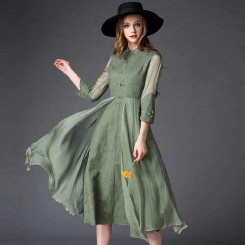 5-jacquard-silk-maxi-dress-500x500 Is Jacquard A Good Summer Dress Fabric?
