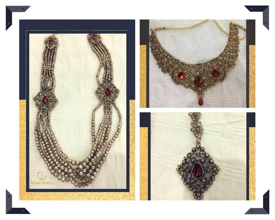 Bridal-Set-Collage Top 10 Online Jewelry Brands in Pakistan That You Will Love