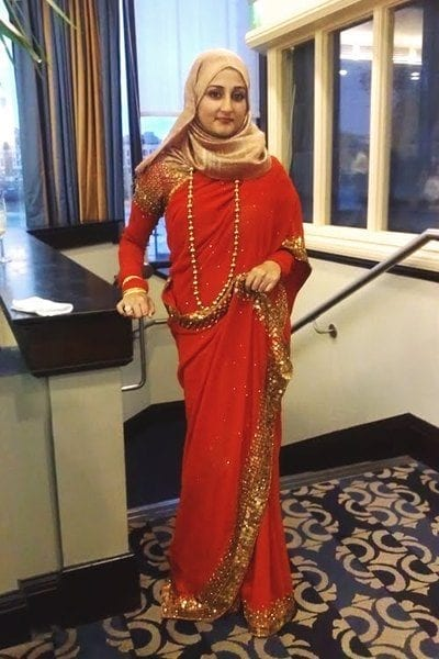 22 25 Latest Wedding Saree Designs & Ideas for Muslim Brides