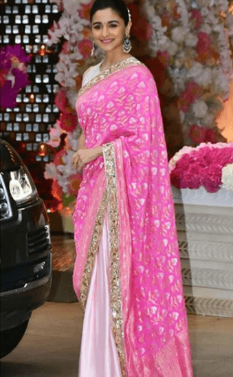 Top-Designer-sarees-by-Manish-Malhotra Top 10 Designer Saree Brands In World 2019 With Price
