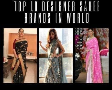 top saree designer brands