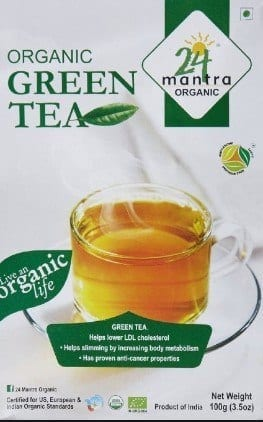 24-Mantra-Organic-Green-tea 12 Best Green Tea Brands for Weight Loss in India 2019