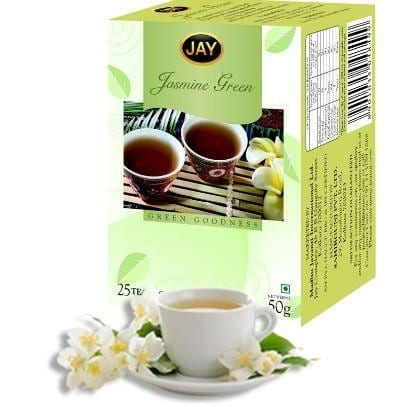 Jay-Green-Tea 12 Best Green Tea Brands for Weight Loss in India 2019