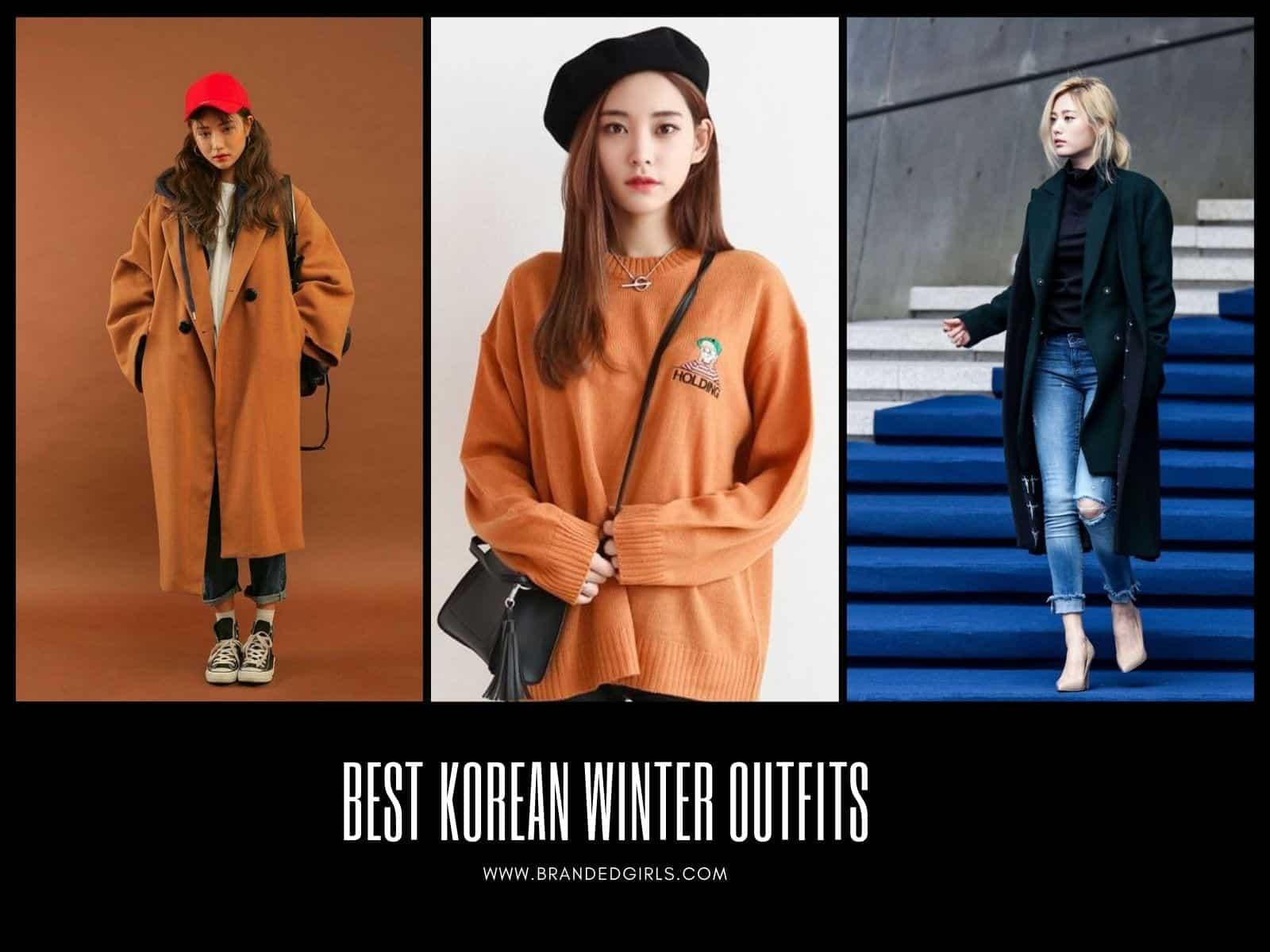Korean-Winter-Outfits Korean Winter Fashion - 26 Best Korean Winter Outfits