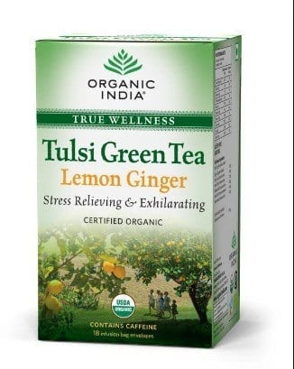 Organic-India-Tulsi-Green-Tea 12 Best Green Tea Brands for Weight Loss in India 2019