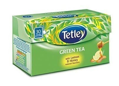 Tetley-Green-Tea 12 Best Green Tea Brands for Weight Loss in India 2019