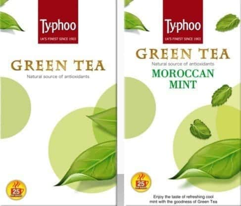 Typhoo-Green-tea 12 Best Green Tea Brands for Weight Loss in India 2019