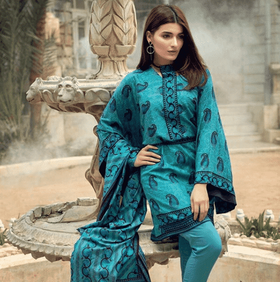 gulahmed-top-fashion-brand 10 Best Pakistani Winter Clothing Brands For Women In 2020