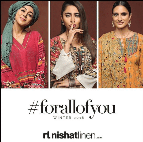 nishat-linen-top-fashion-brand 10 Best Pakistani Winter Clothing Brands For Women In 2020