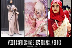 Saree Designs and Ideas for Muslim Brides