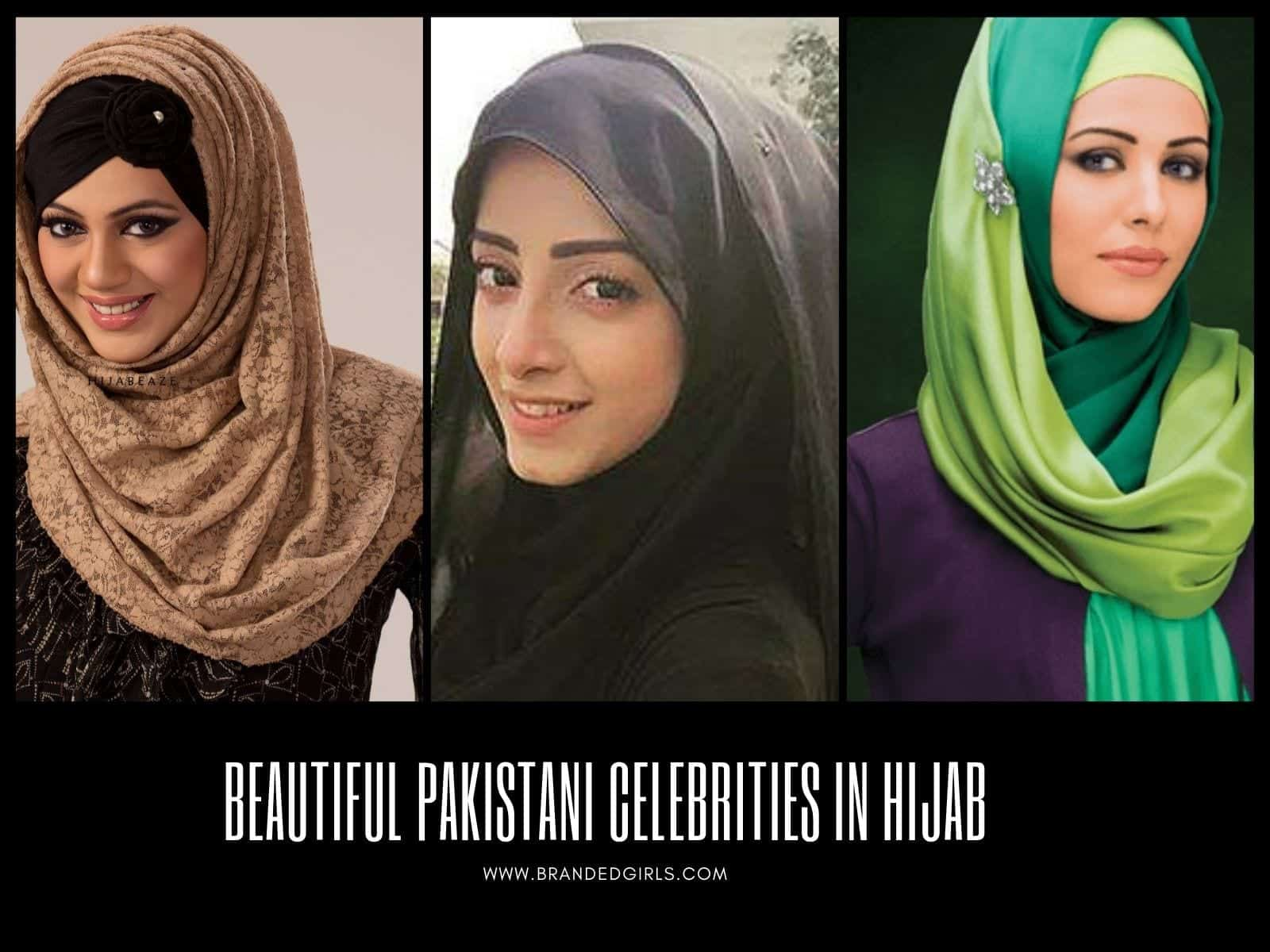 Pak 25 Beautiful Pakistani Celebrities Wearing Hijab